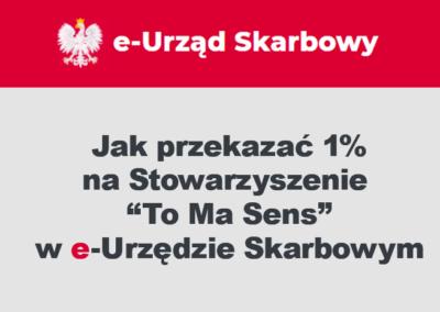 """1% w systemie """"Twój e-PIT"""""""